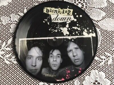 Blink 182 DOWN Ltd Edition 7  PICTURE DISC 2004   • 13.99£