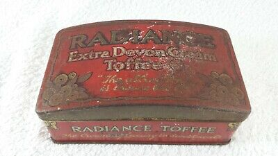 Vintage Radiance Extra Devon Cream Toffee Tin. Treated With Renaissance Wax. • 14.95£