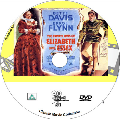 The Private Lives Of Elizabeth And Essex - Bette Davis, Errol Flynn 1939 • 1.99£