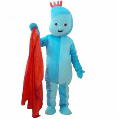 BRAND NEW CUSTOMISED Iggle Piggle Mascot Costume Actual Pictures New Year • 95.50£