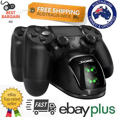 AU26.95 • Buy For Playstation 4 PS4 Controller LED Charger Dock Dual Fast Charger