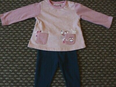 Baby Girls Two-Piece Outfit From Primark, Age 3-6 Months *Excellent Condition* • 0.99£