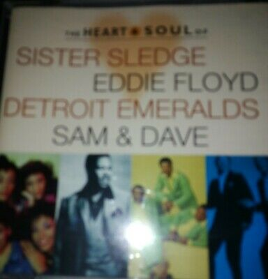 The Heart And Soul Of By Sister Sledge/Eddie Floyd/Sam And Dave/Detroit Emeralds • 2.99£