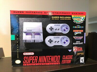 $ CDN249.99 • Buy Super Nintendo Entertainment System SNES Classic Edition