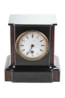 Victorian Slate And Marble Mantel Clock • 350£
