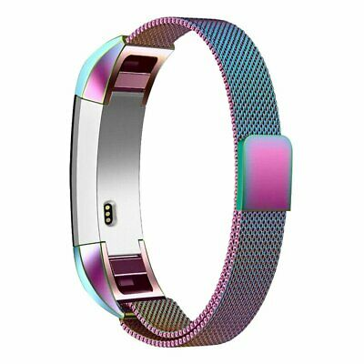AU8.36 • Buy SMALL For Fitbit Charge2 Band Metal Stainless Steel Milanese Loop WristbandStrap