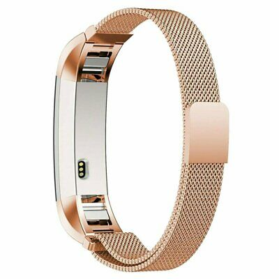 AU10.99 • Buy LARGE For Fitbit Charge2 Band Metal Stainless Steel Milanese Loop WristbandStrap