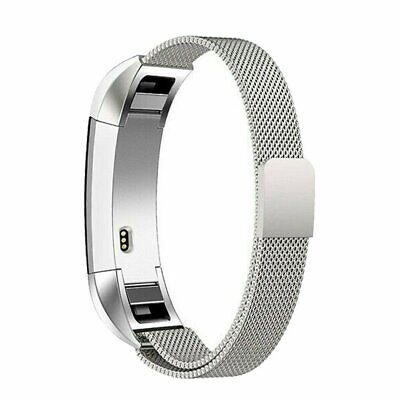 AU9.89 • Buy LARGE For Fitbit Charge2 Band Metal Stainless Steel Milanese Loop WristbandStrap
