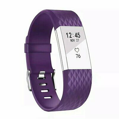 AU3.59 • Buy SMALL Replacement For Fitbit Charge2 Wristband Silicone Watch WristBand Strap AU
