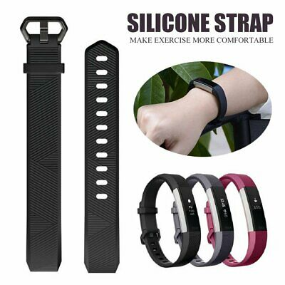 AU3.94 • Buy Replacement Band Wristband Silicone Sports Watch For Fitbit Alta HR