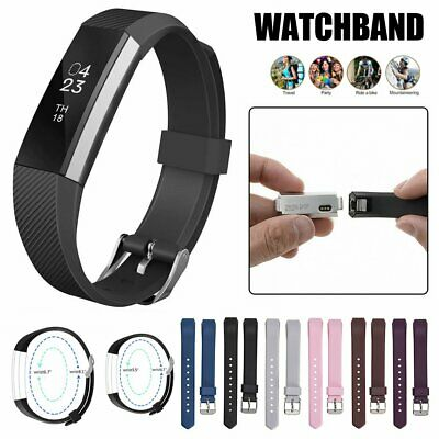 AU4.69 • Buy Silicone Replacement Band Sports Wristband Watch For Fitbit Alta Alta HR