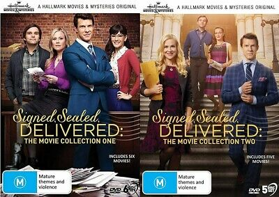 AU139.52 • Buy SIGNED SEALED DELIVERED Collection One + Two (Reg 2) DVD Hallmark Mysteries 1-11