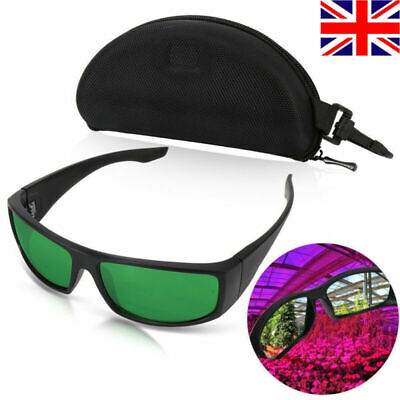 LVJING Indoor Hydroponics Grow Light Room Tent Glasses Goggles Anti UV For LED • 16.20£