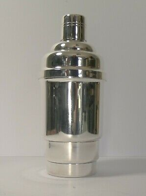 £350.45 • Buy Large French Art Deco Silver Plated Cocktail Shaker C.1930