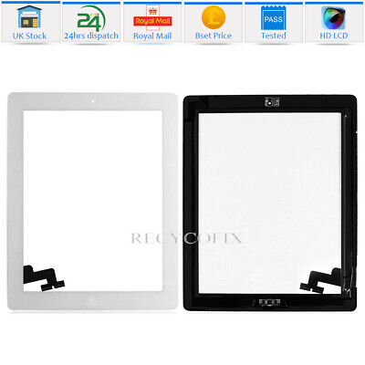 For IPad Mini 1 / 2 Touch Screen Digitizer Glass Replacement + IC White • 9.59£