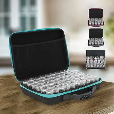 AU25.89 • Buy 60 Slots Diamond Painting Accessories Embroidery Case Geometric Storage Box Art