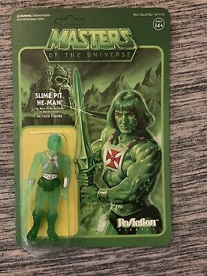 $34.99 • Buy MOTU Masters Of The Universe Slime Pit He-Man ReAction Figure Super7 Power Con