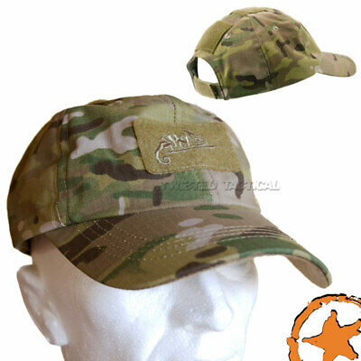 £9 • Buy Helikon Baseball Army Military Tactical Hat Cap Camogram Multicam Patch Panel