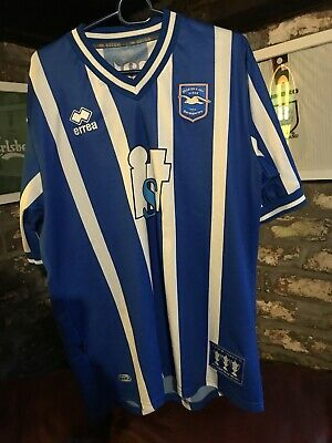 Brighton And Hove Albion Mens 2010/11 10 11 Home Football Shirt Extra Large XL • 39£