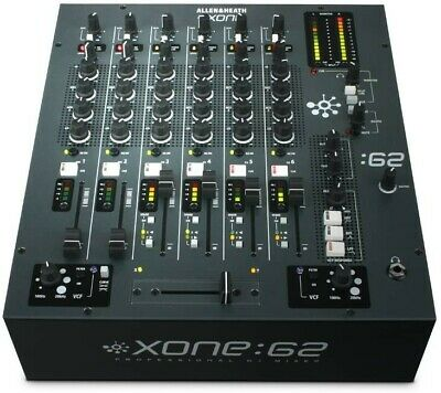 Allen & Heath Xone 62 DJ Mixer Studio Home Use Excellent Condition Looked After • 600£