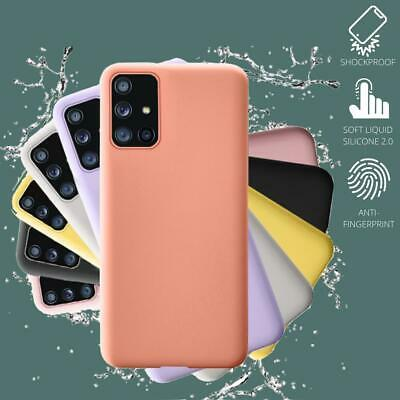 AU8.90 • Buy Shockproof Silicone Cover Slim Case Samsung S10 S20 Plus Note 20 Ultra 10 S8 S9