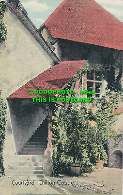 $9.38 • Buy R000983 Courtyard. Chillon Castle. 1911. B. Hopkins