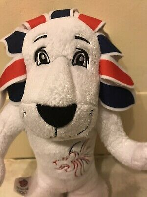 London 2012 Lion Olympic Games Team GB Mascot Soft Toy Plush Collectible • 6.40£
