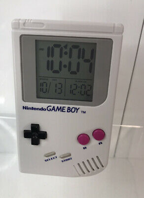NINTENDO GAME BOY Retro Gaming  GameBoy Alarm Clock Fully Tested And Working  • 9.99£