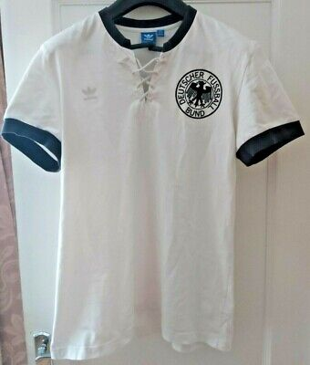 Adidas Originals 1954 GERMANY DEUTSCH FOOTBALL RETRO Shirt Jersey Trikot Maillot • 25£