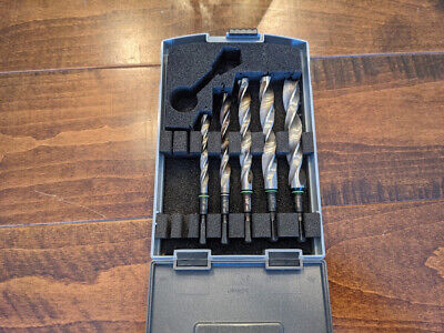 Festool 496942 Centrotec Imperial Wood Drill Bits Hardcase - Rare USA Imperial • 95.69£