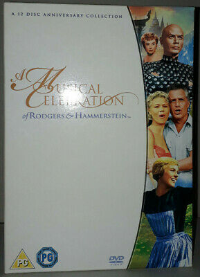 £8.99 • Buy A Musical Celebration Of Rodgers And Hammerstein - 12 Disc DVD Box Set
