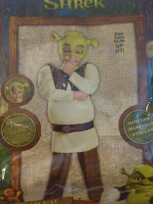 £12.07 • Buy Shrek Costume With Muscles Child Size 2T