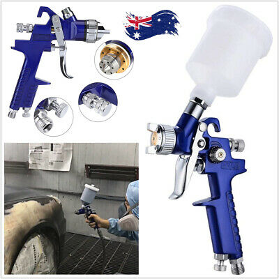AU29.95 • Buy HVLP Spray Gun 600CC Gravity Feed Air Paint Sprayer Nozzle Tip Cup Kit Touch Up
