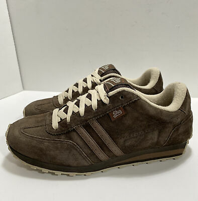 """AU39.33 • Buy Vintage DVS """"Volari"""" Skate Shoes Mens Size US 8 Brown Suede Discontinued Puffy"""