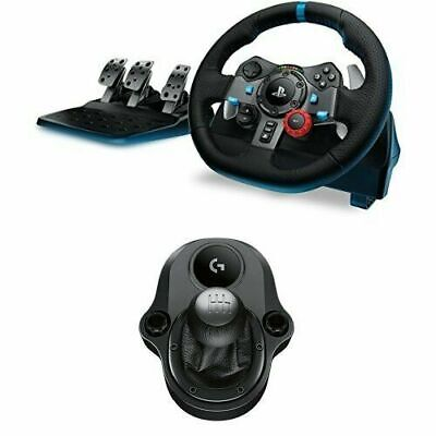 Logitech G29 Steering Wheel For Simulation Of Racing (Compatible W PS4,PS3 & PC) • 774.20£