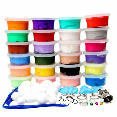 AU6.07 • Buy 20/25/50pcs Pack 20g Slime Storage Clear Containers Multi-Use Organizer