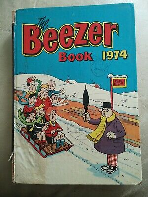 THE BEEZER BOOK 1974 UK Comic Annual Excellent Condition UNCLIPPED • 1.70£