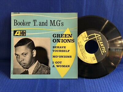 Booker T Mg's Green Onions 222010 Languette Original France 45t / 7'  Exc • 104.26£