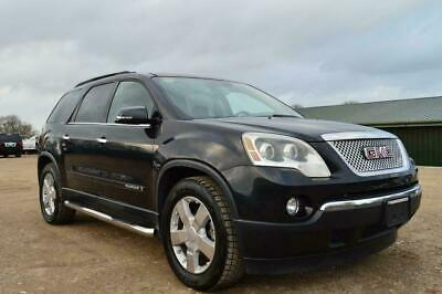 Fresh Import Lhd Gmc Acadia Slt Automatic 7 Seater Explorer Black • 11,995£