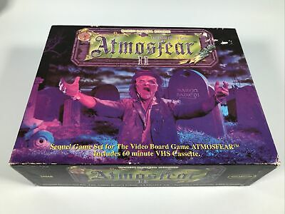Atmosfear 2 Vintage VHS Board Game Baron Samedi Zombie - Contents Sealed • 14.99£