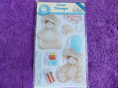 Docrafts  TEDDY BEAR  Clear Stamps • 2.15£