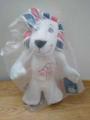 Team GB Pride The Lion Mascot Plush Toy Olympics Brand New Tagged And Bagged • 9.99£