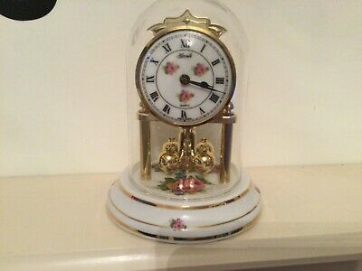 Quartz Hermle Dome Carriage Clock Ornamental USED • 15£