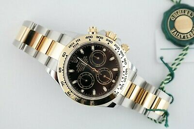 $ CDN24860.69 • Buy Men's Rolex Daytona 116503 Two-Tone Black Dial Oyster Band Box & Papers 2020