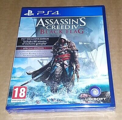 Assassins Creed: Black Flag (Sony Playstation 4) PS4 - Special Edition  • 12£