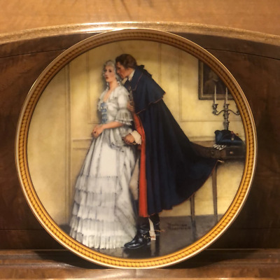 $ CDN49.99 • Buy Norman Rockwell The Unexpected Proposal Plate 1986 Edwin Knowles Collection