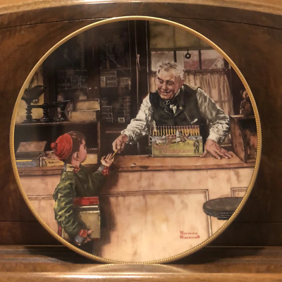 $ CDN43.94 • Buy Norman Rockwell Collector Edition Plates Back To School