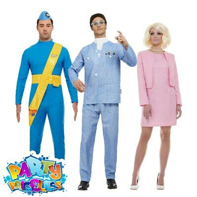 Adult Thunderbirds Costume 1960s TV World Book Day Men Ladies Fancy Dress Outfit • 32.95£