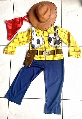 Toy Story Woody 5-6 Complete Dressing Up Fancy Dress Outfit Costume • 11.99£