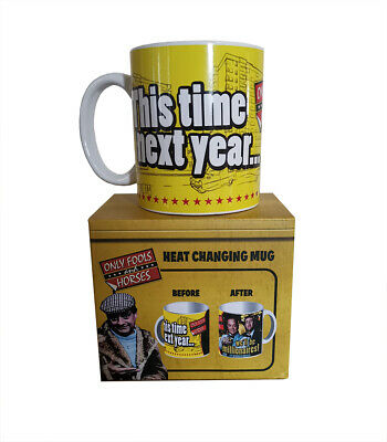 Only Fools And Horses Official Millionaires Heat Change MUG In Gift Box  • 9.99£